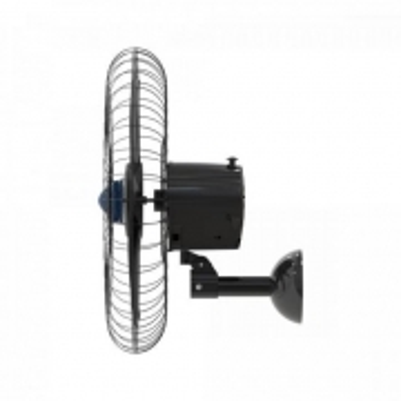 Ventilador Parede 60CM Turbo 6 PAS Bivolt Steel Preto Ventisol