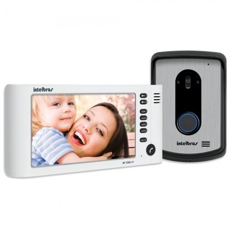 Video Porteiro Intelbras IV7010 HF LCD 7 Branco