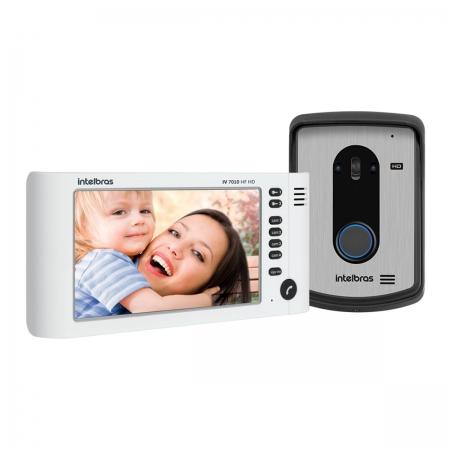 Video Porteiro IV 7010 HF HD Branco Multi HD