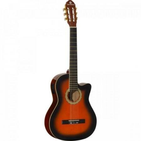 Violao Eletroacustico NYLON GE20 Sunburst Harmonics