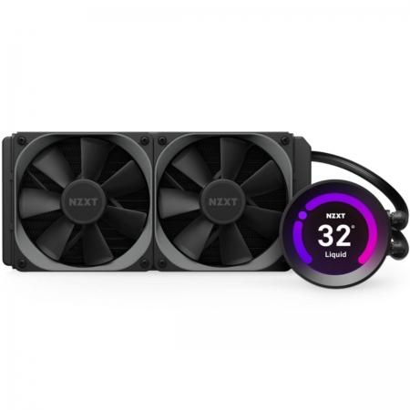 Water Cooler Kraken Z53 - 240MM - com Display LCD NA Bomba - RL-KRZ53-01