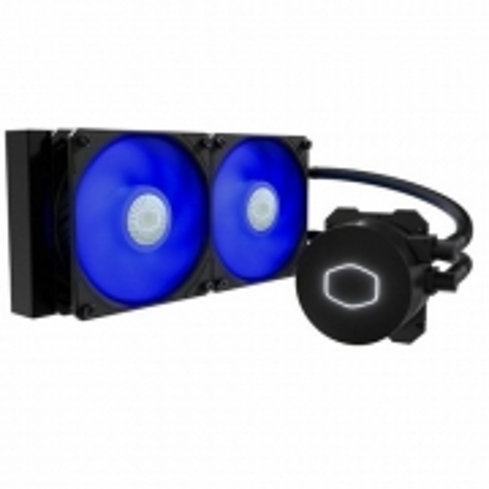 Water Cooler P/ Processador Cooler Master Masterliquid ML240L V2 Blue LED - MLW-D24M-A18PB-R2