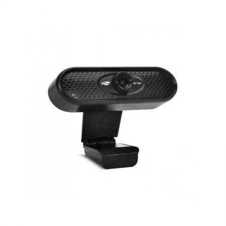 Webcam C3 TECH WB-71BK 720P - Preta