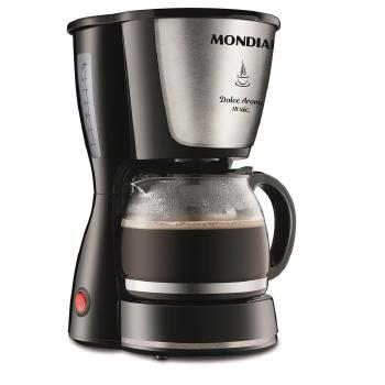 Cafeteira Mondial C30 18XIC.DOLCE Arome - 2692-01 PRETO/INOX 110 VOLTS