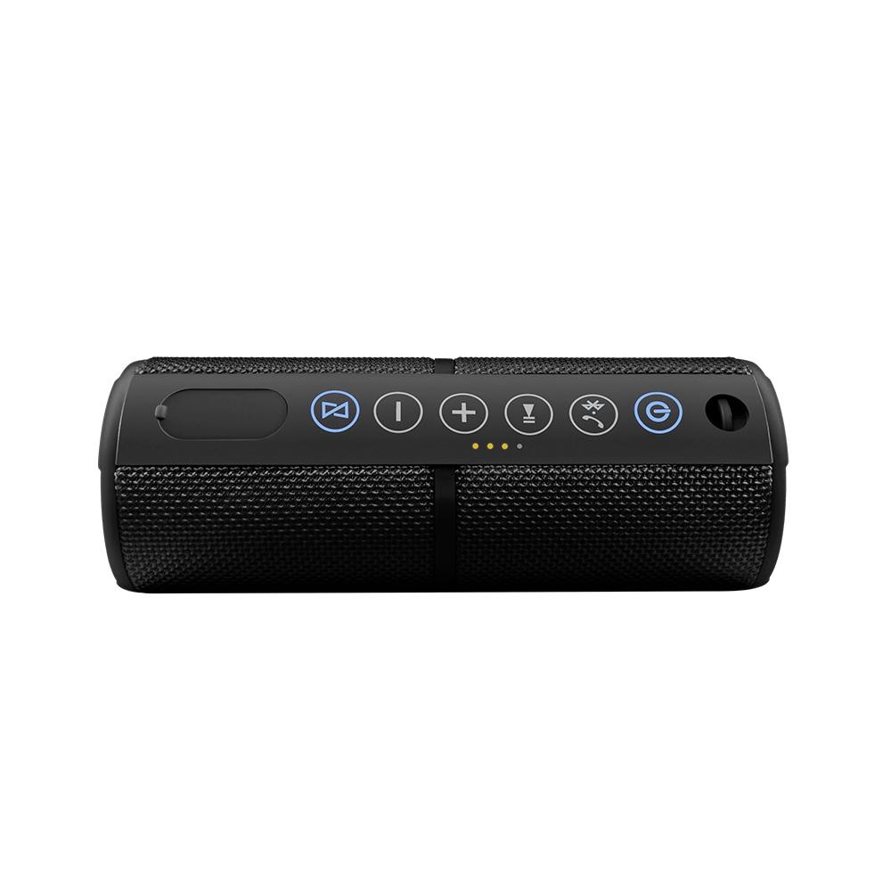 Caixa de Som TWIN Pairing Pulse Bluetooth Preta SP245