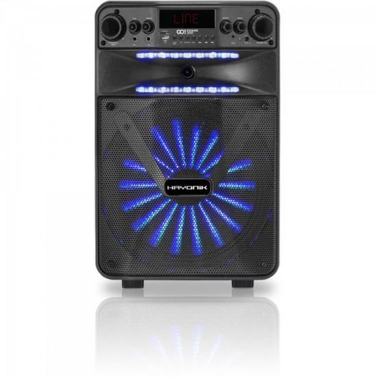 Caixa Multiuso Portatil BLUETOOTH/MICROSD/USB/FM 100W Go!power 200 Hayonik