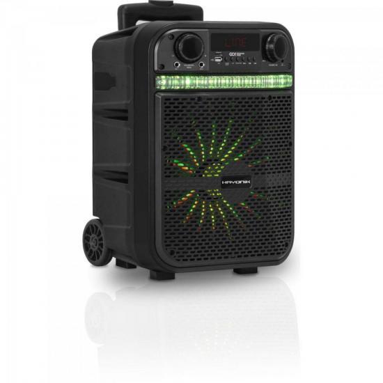 Caixa Multiuso Portatil BLUETOOTH/MICROSD/USB/FM 80W Go!power 100 Hayonik