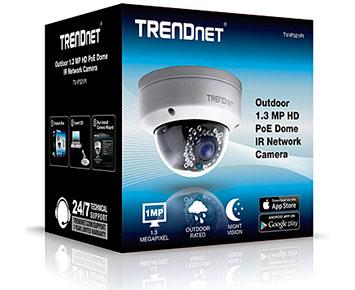 Camera de Vigilancia Trendnet IP 1,3MP Dome (TV-IP321PI)