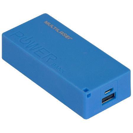 Carregador Porta�til Power BANK 4000MAH Cabo Micro USB Incluso CB097, Cores Sortidas sem Opa?a?o