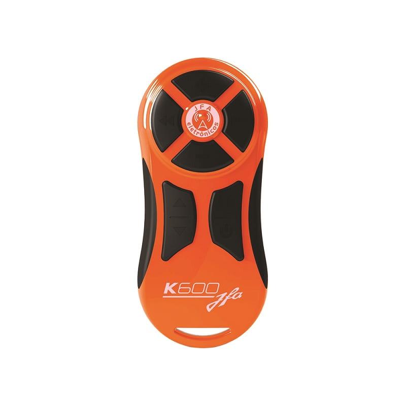 Controle Remoto JFA K600 600M Preto Laranja