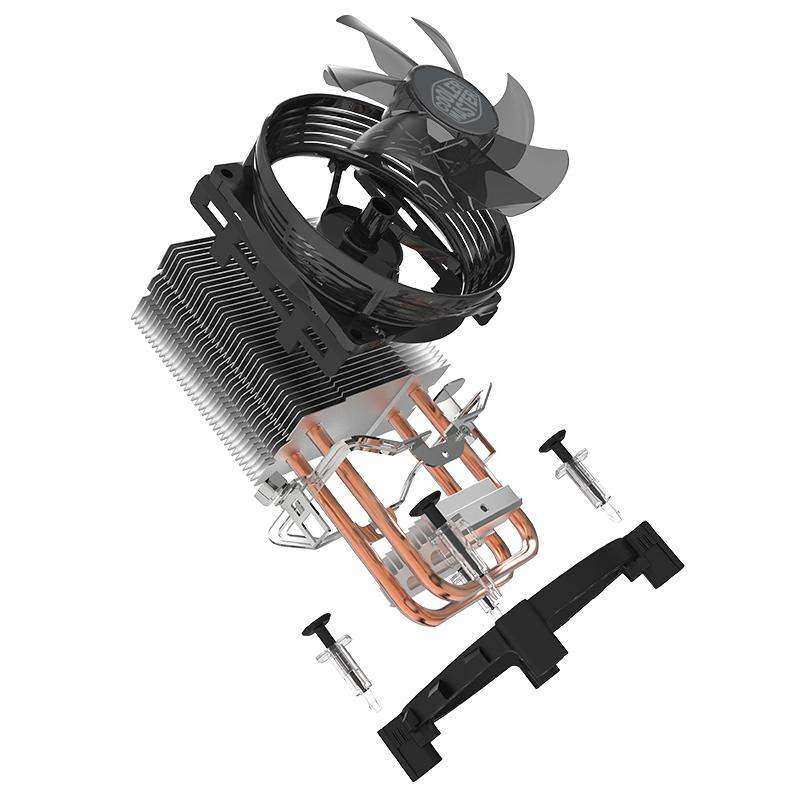 Cooler para Processador HYPER T20 (substituto do Blizard T2) - RR-T20-20FK-R1