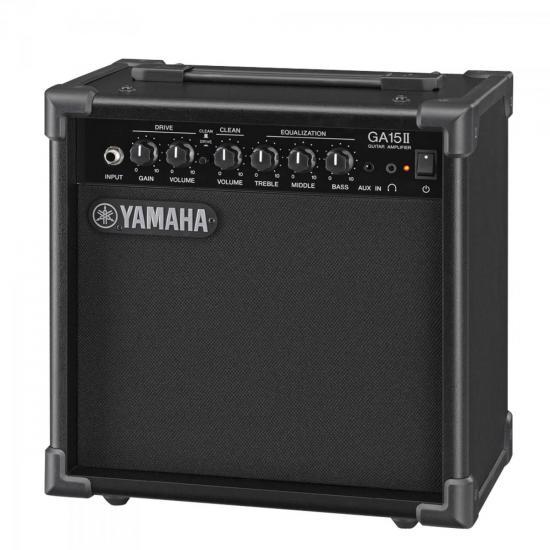 Cubo para Guitarra GA15II 15W RMS Preto Yamaha
