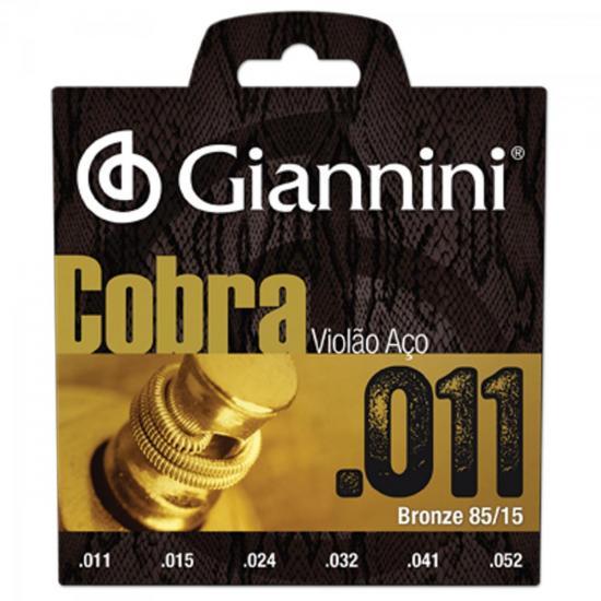 Encordoamento Geeflk Serie Cobra em ACO Paraviolao .011 Giannini