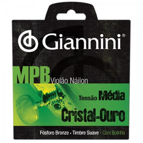 Encordoamento para Violao GENWG com Bolinha NYLON Media Giannini