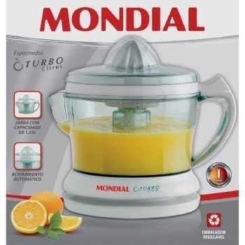 Espremedor Frutas Turbo Citrus - 0190 01 Branco 110 VOLTS