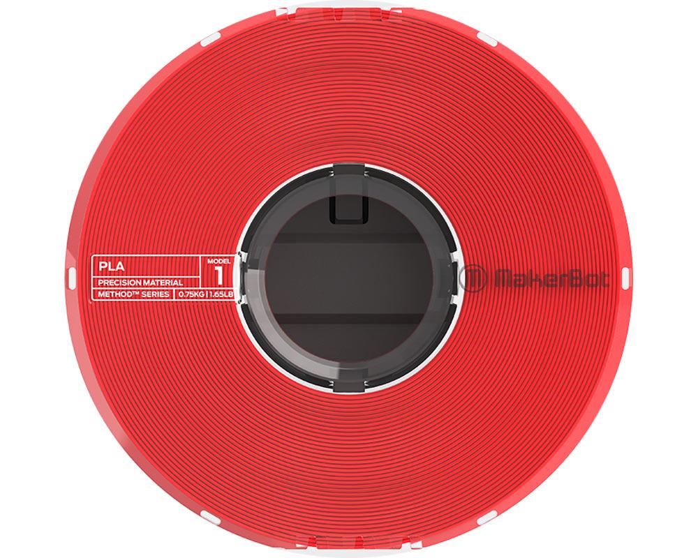 Filamento Makerbot Method PLA Precision Material True RED (375-0018A)