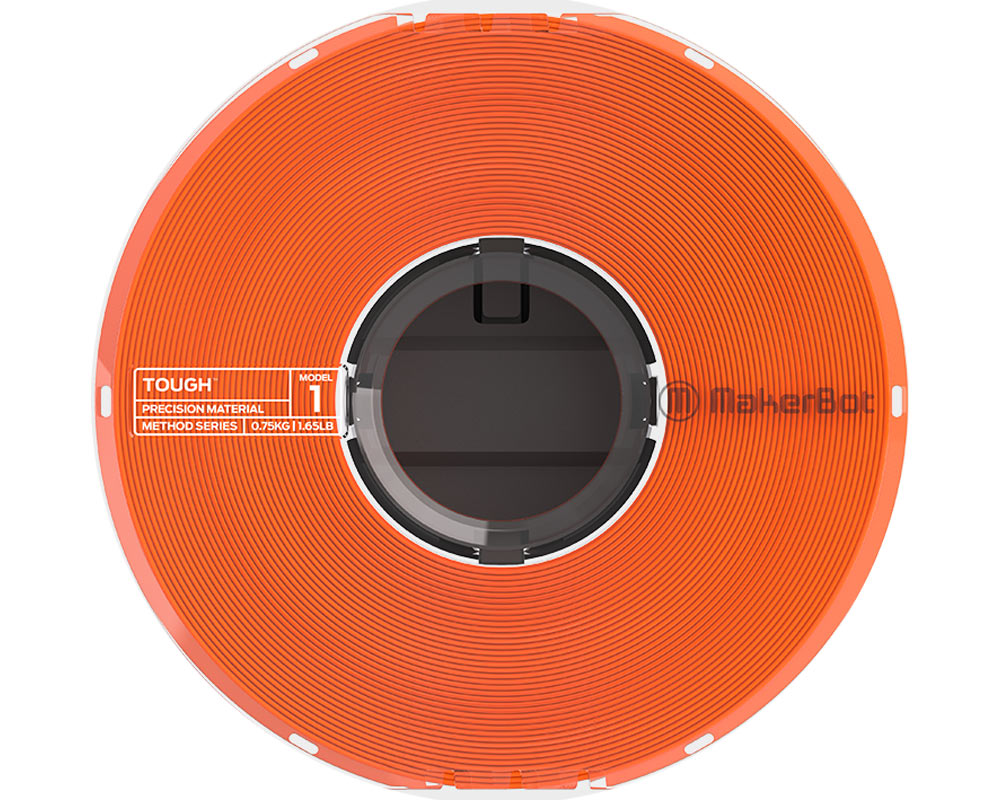 Filamento Makerbot Method Tough Precision Material Safety Orange (375-0005A)