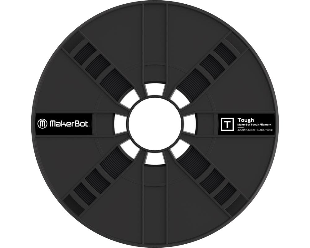 Filamento Makerbot Tough PLA Large Spool ONYX BLACK (375-0007A)