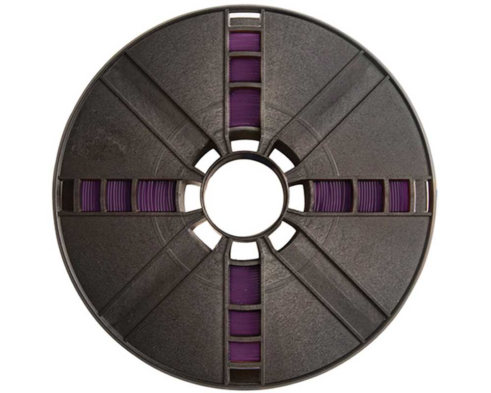 Filamento Makerbot Translucent Purple PLA Large Spool 1.75MM / 1.8MM Filament (t.purplepla LARGE~MP05768)