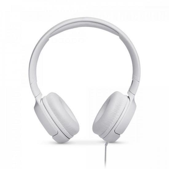 Fone de Ouvido ON EAR JBL T500 - 28913017 Branco