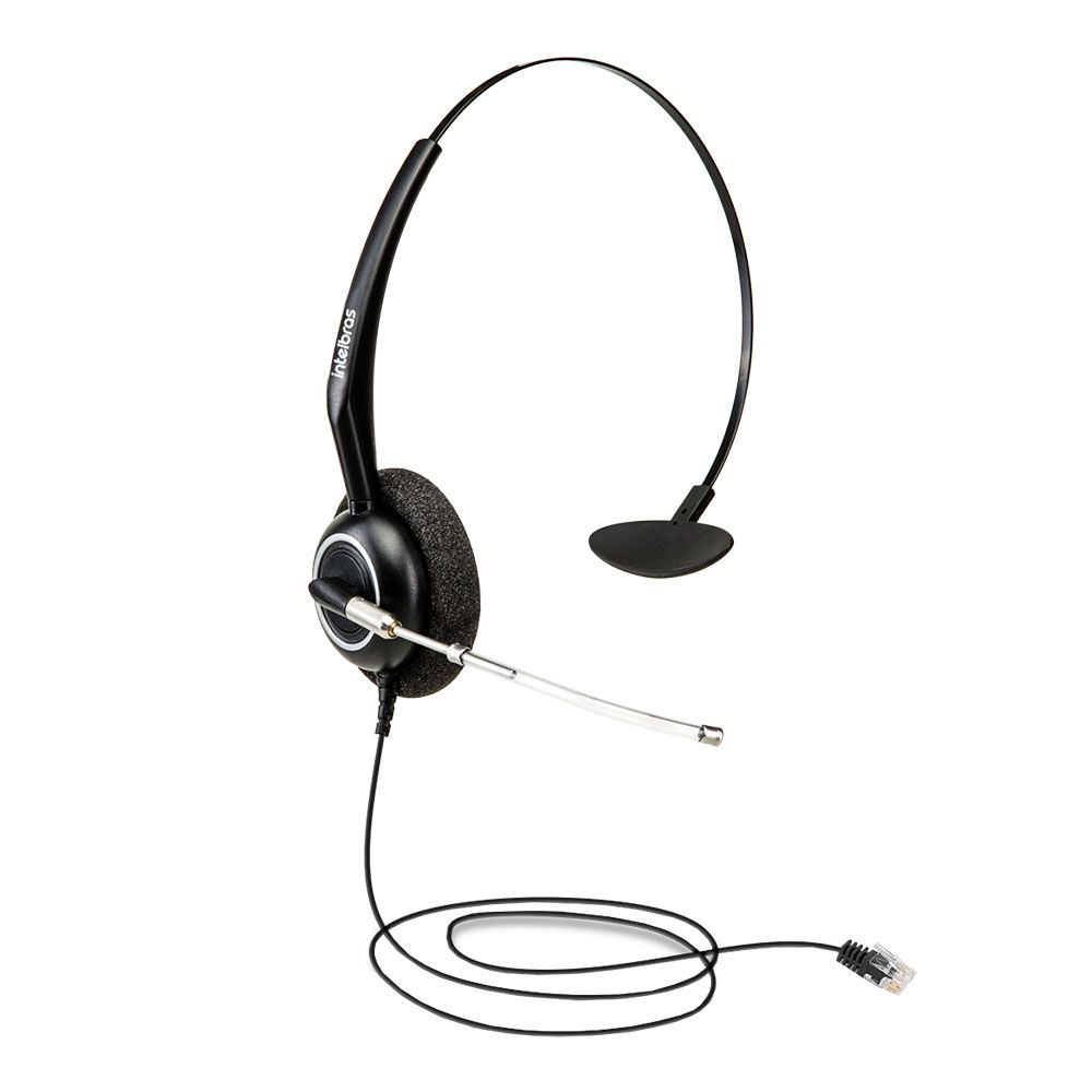 Fone Headset Intelbras THS-55 Conector RJ9 4010056