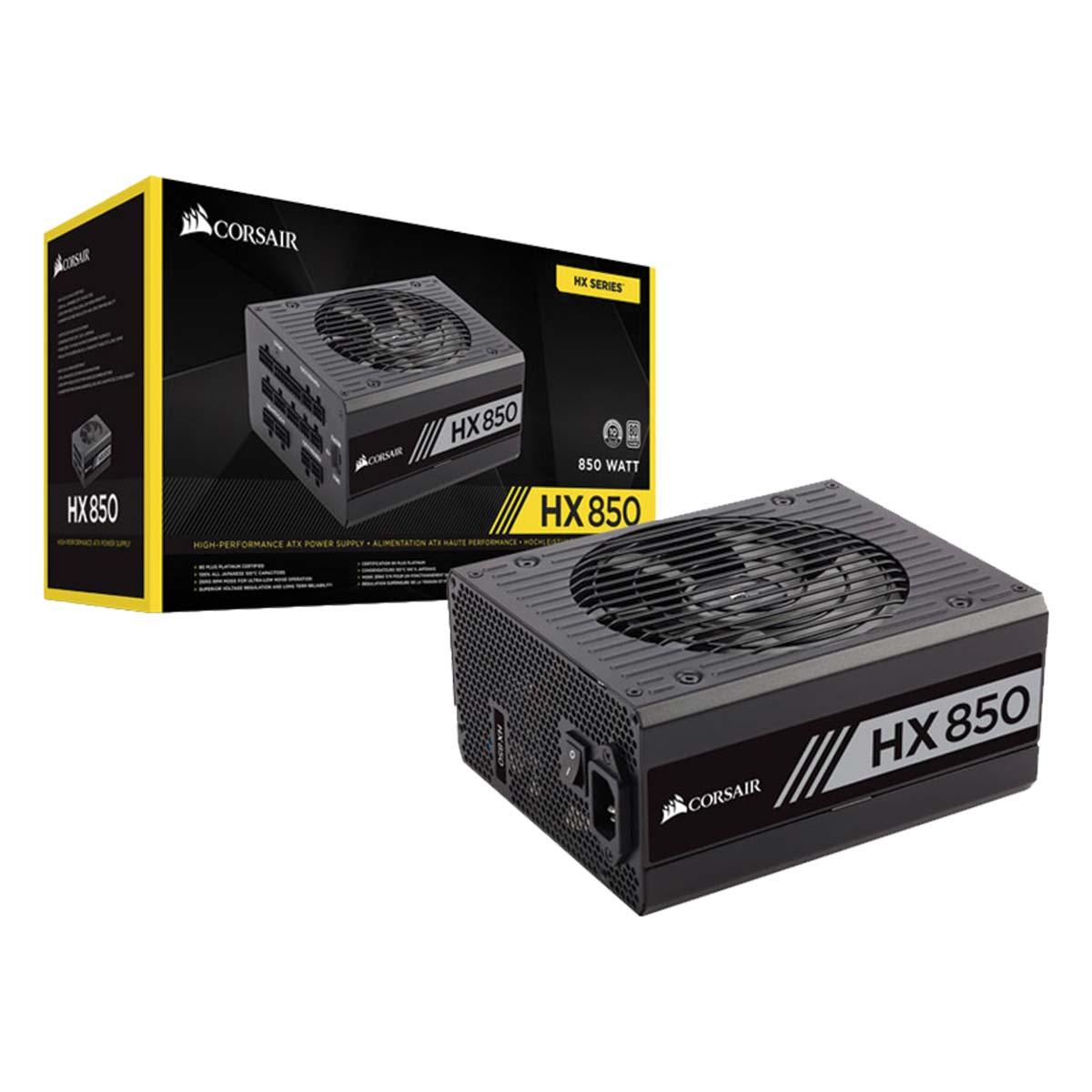 Fonte ATX 850W HX850 80PLUS Platinum - CP-9020138-WW - Corsair