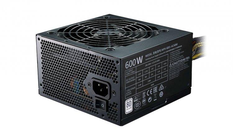 Fonte Cooler Master Elite V3 FULL Range 600W - MPW-6001-ACAAN1-WO