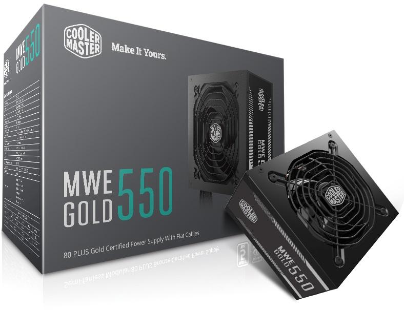 Fonte MWE 550W - 80 PLUS GOLD - MPY-5501-ACAAG-WO