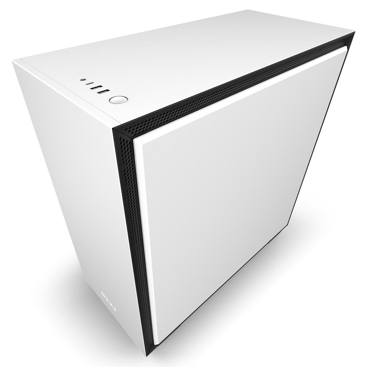 Gabinete H710 Matte White - CA-H710B-W1