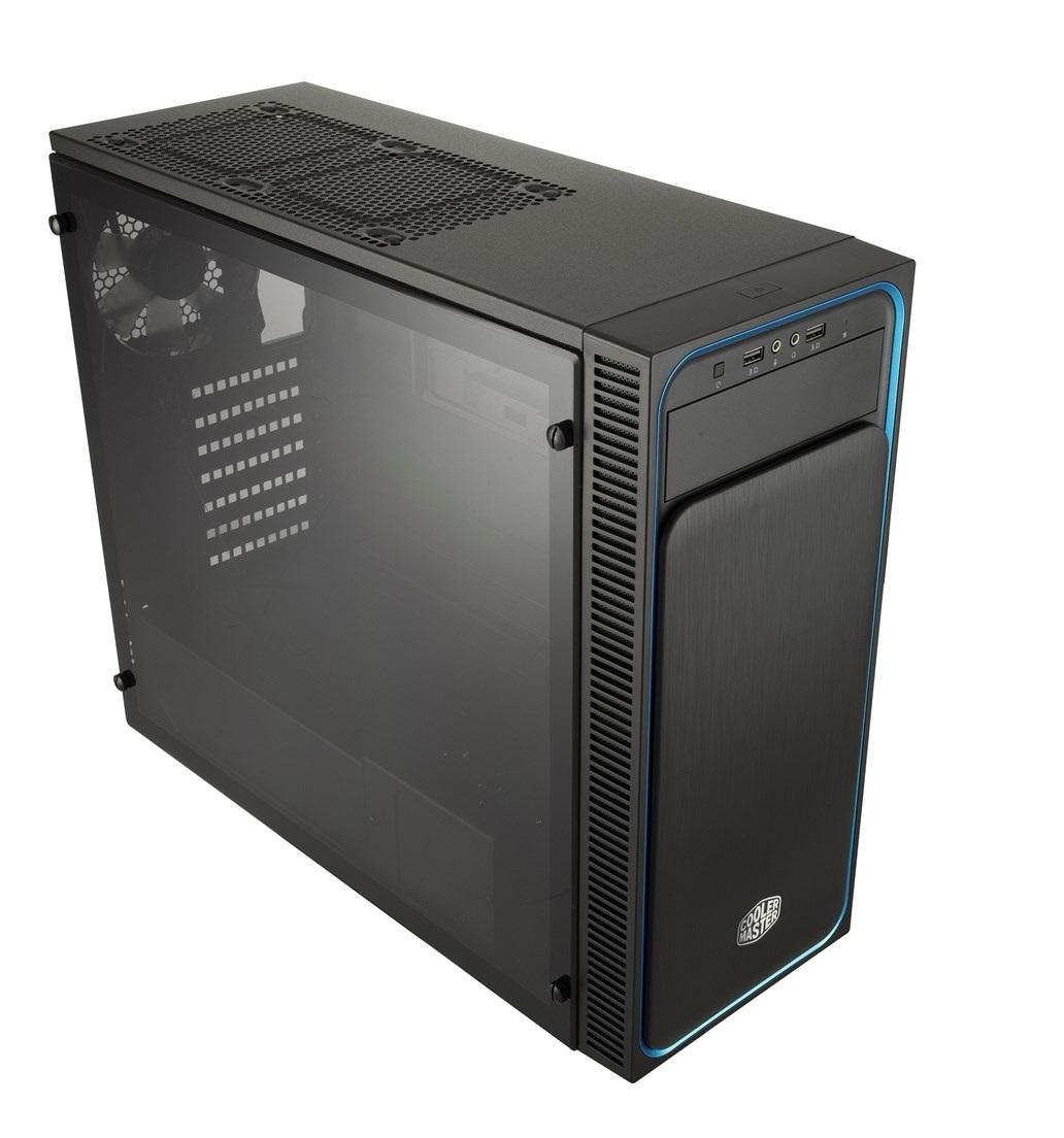 Gabinete Masterbox E500L - MCB-E500L-KA5N-S00 - AZUL