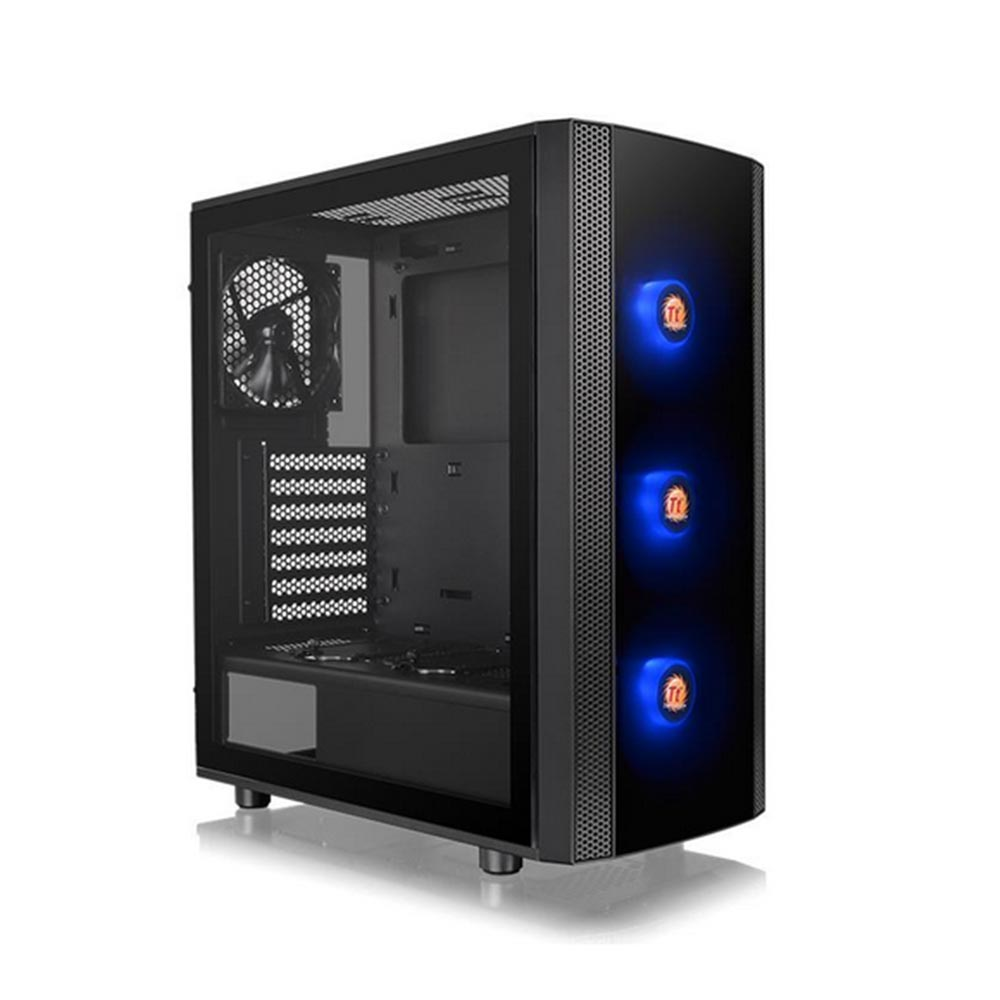 Gabinete TT J25 TG RGB/BK/WIN/SPCCOM T.GLASS*1/MB SYNC CA-1L8-00M1WN-01*