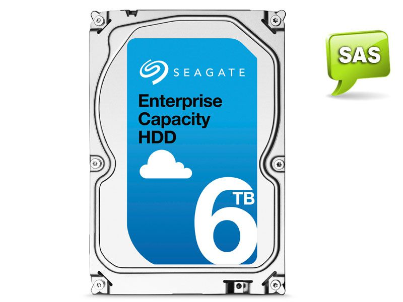 HD 3,5 Enterprise Servidor 24X7 Seagate 1YZ210-003 ST6000NM0095 6 Teras 256MB Cache 7200RPM SAS 12GB/S