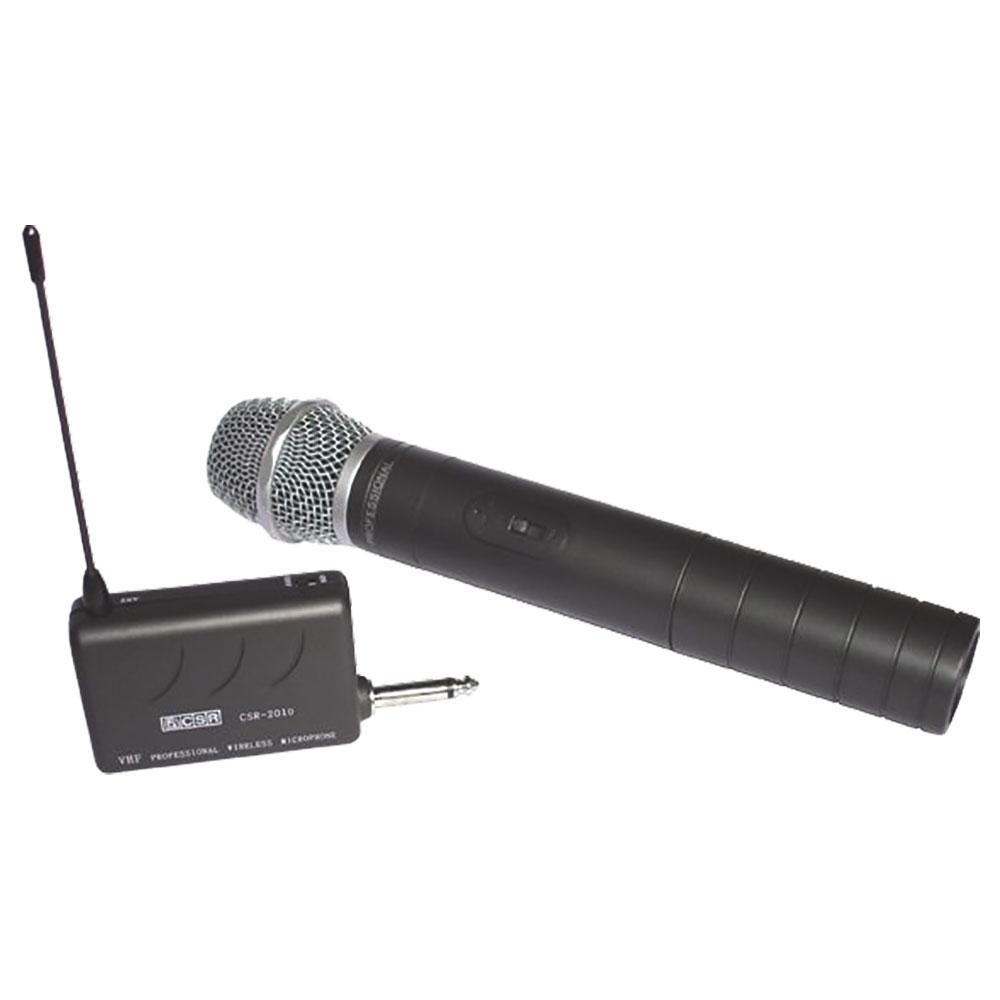 Microfone CSR-2010 Profissional sem Fio VHF