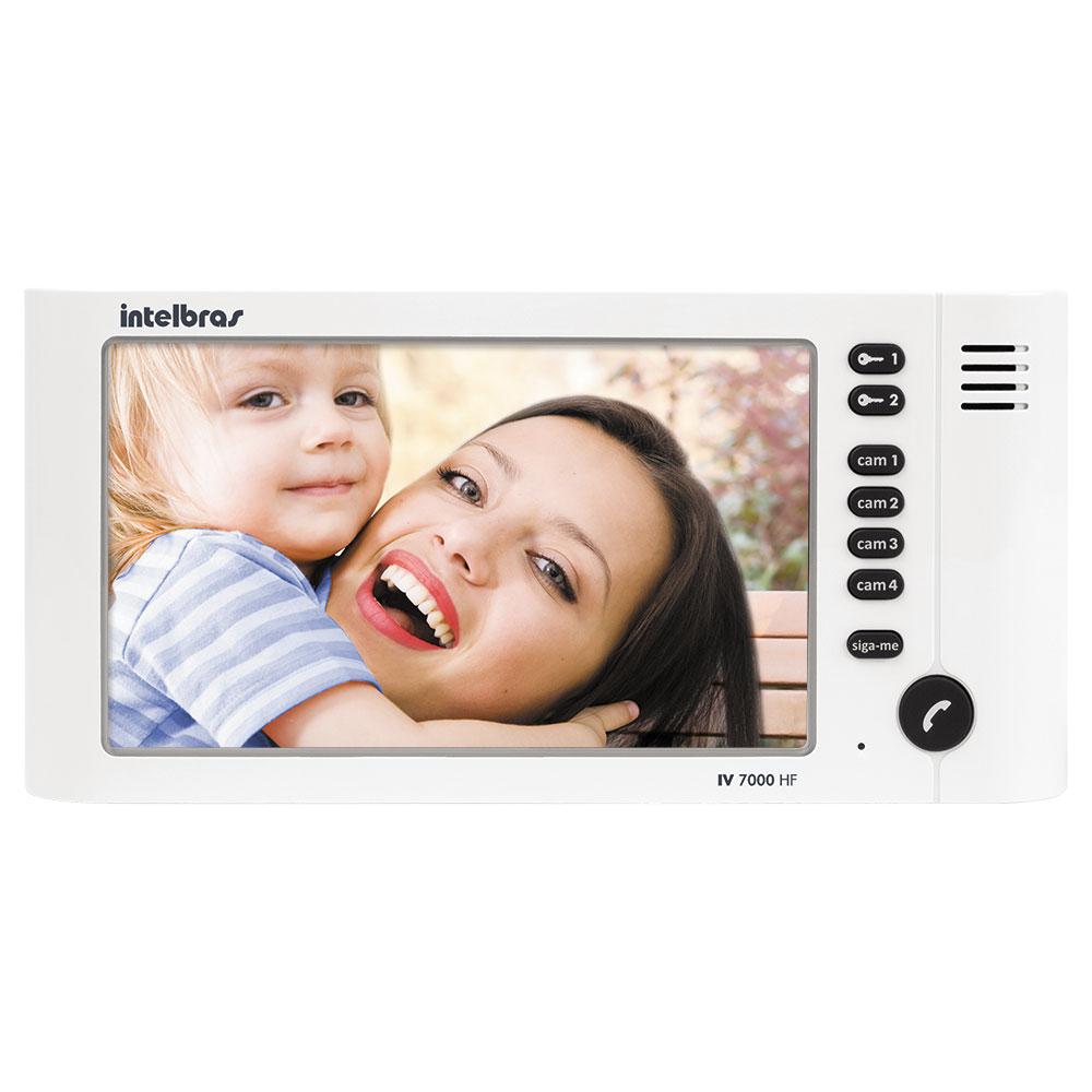 Modulo Interno para Video Porteiro Intelbras IV 7000 HF Monitor LCD de 7