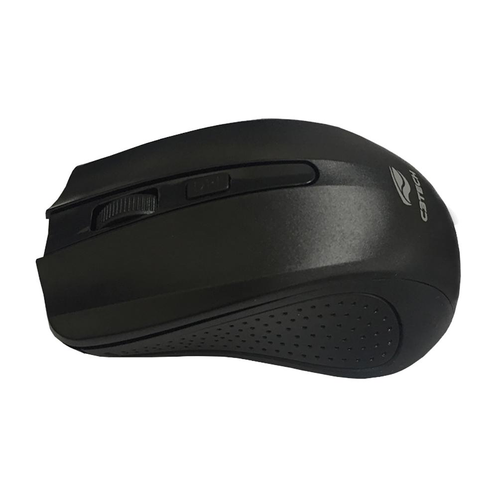 Mouse sem Fio C3TECH Wireless M-W20BK USB Preto 2.4GHZ