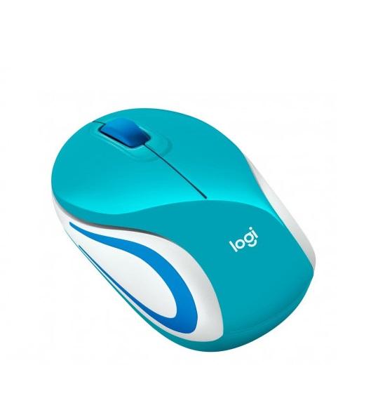 Mouse sem Fio M187 Aqua Logitech