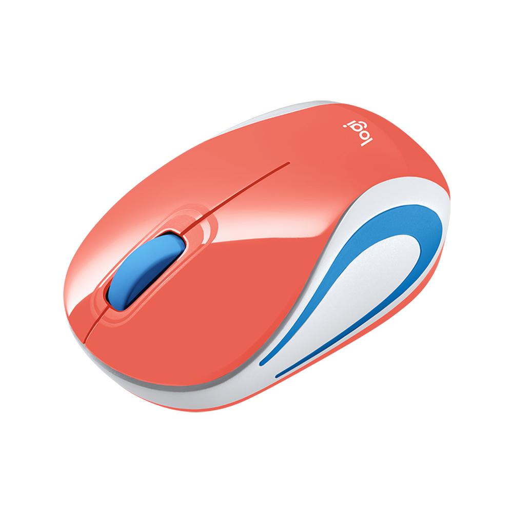 Mouse sem Fio M187 Coral Logitech