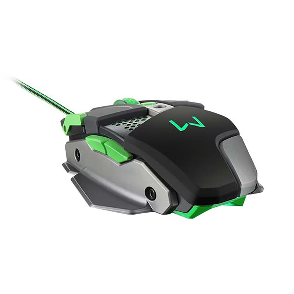 Mouse Warrior Gamer Aluminio 4000DPI MO249