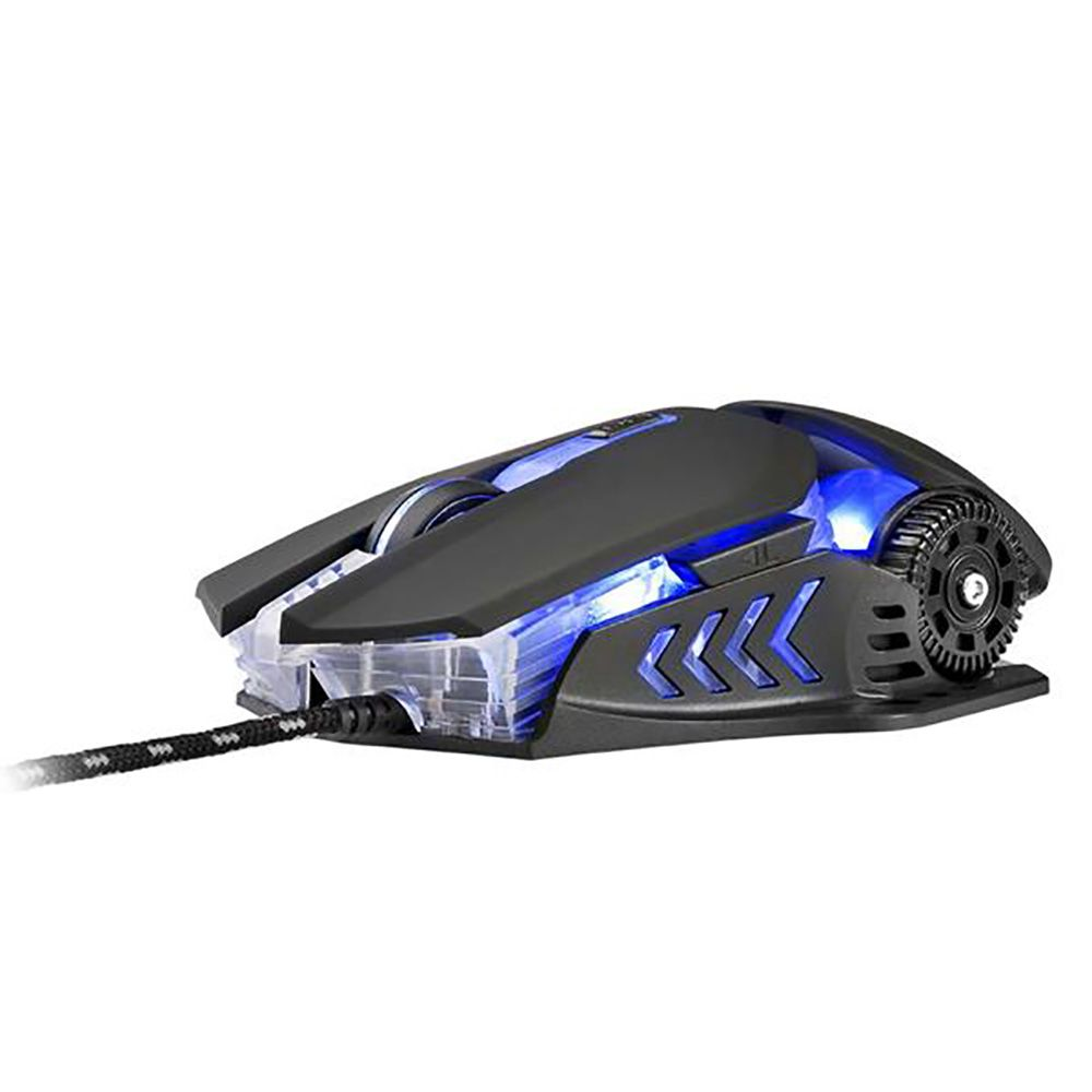 Mouse Warrior MO267 Keon Gamer 3200DPI Preto
