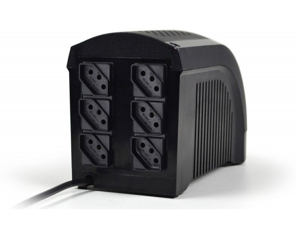 NO-BREAK TS Shara UPS Mini UPS Mini 600 1BS Mono 115V 6T Saida 115V 5A (4004)