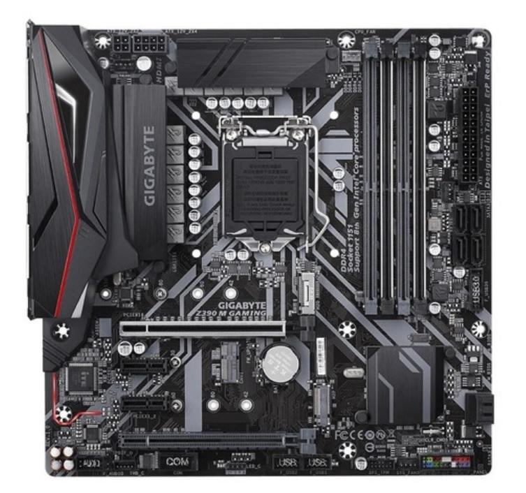 Placa Mae Gigabyte Micro ATX (1151) - DDR4 - Z390M-GAMING