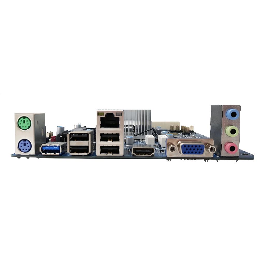 Placa Mae Pcware Mini ITX IPX1800E2 com Processador Integrado Celeron J1800 sem V/ R