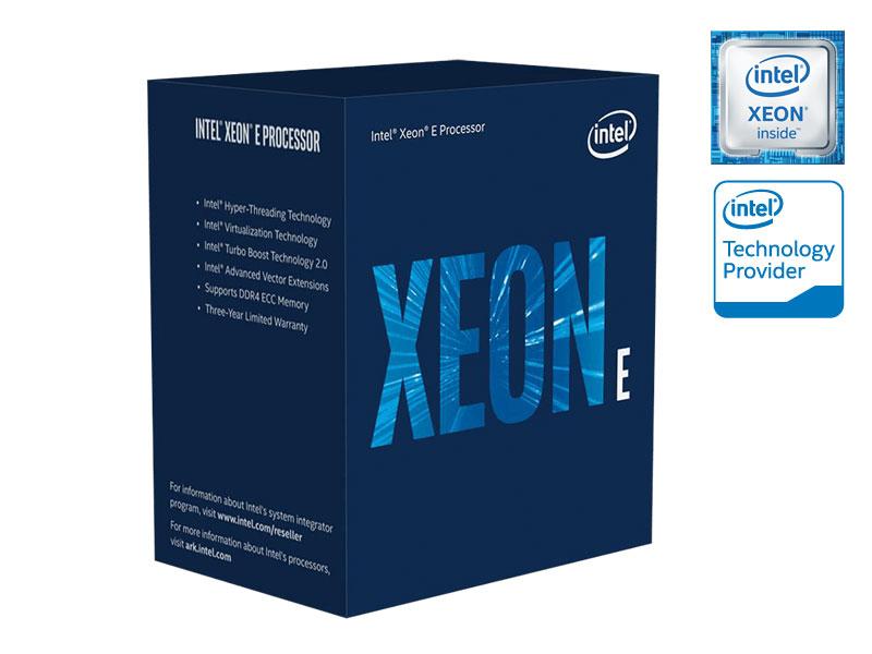 Processador Xeon e INTEL BX80684E2124G Quad Core E2124G 3,40GHZ 8MB LGA1151