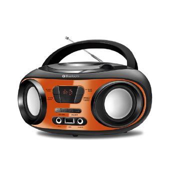 Radio Mondial 6W RMS Bluetooth CD USB Displey Digital - NBX-18