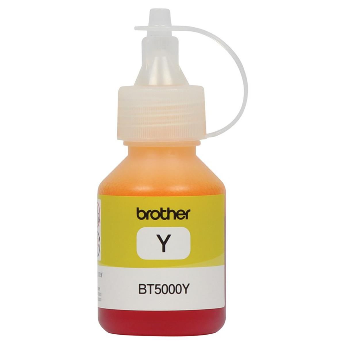 Refil de Tinta Brother - Amarelo 41,8 ML - BT5001Y