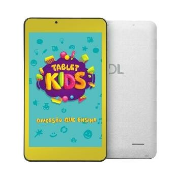 "Tablet DL KIDS PLUS Rosa 7"" 8GB WI-FI Camera Frontal - TX398PCR"