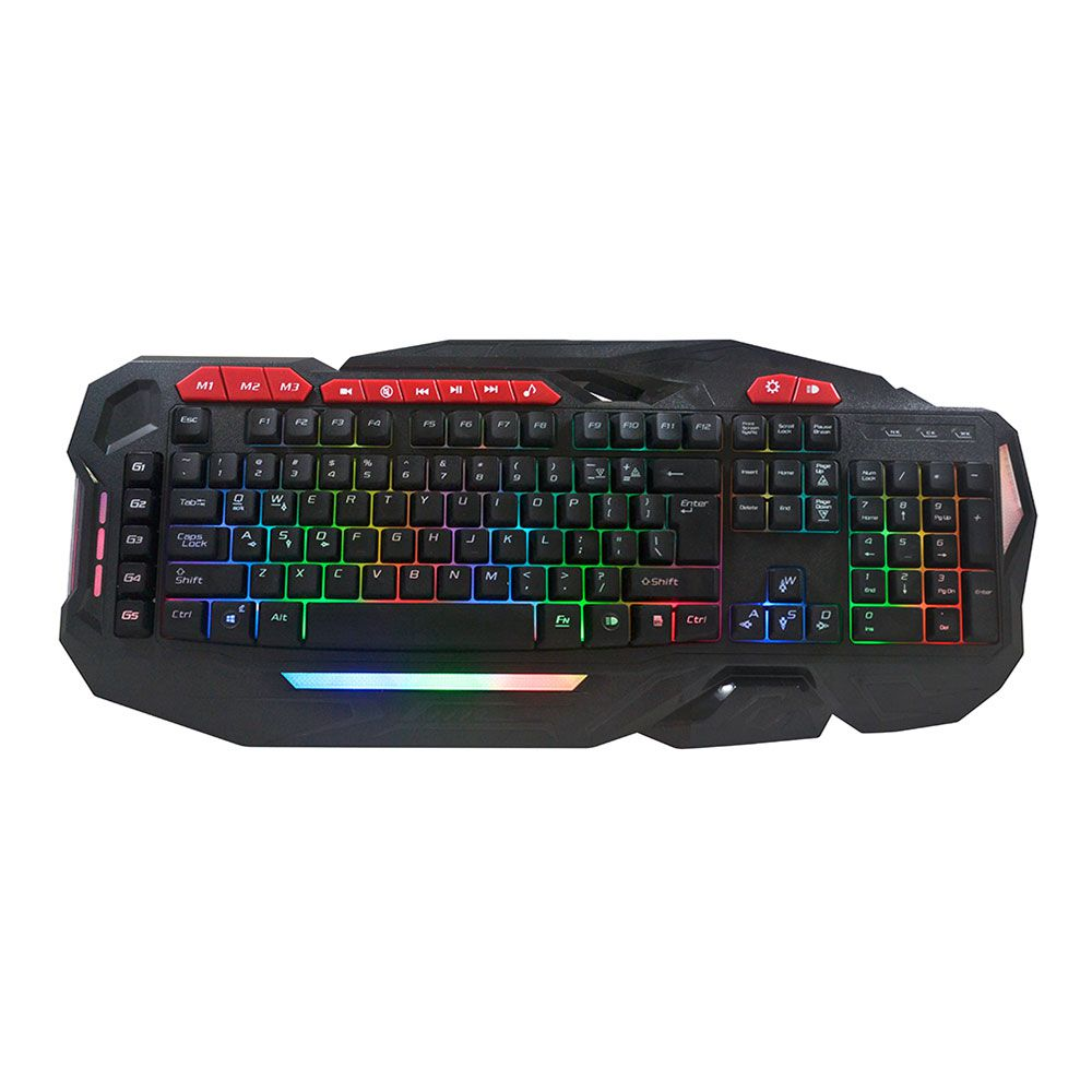 Teclado Hardline HL-SHK Shadow Hunter Gaming USB
