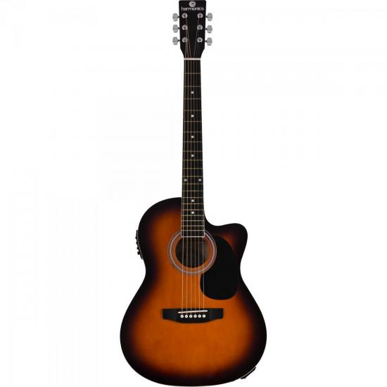 Violao Eletroacustico ACO GE-21 Sunburst Harmonics