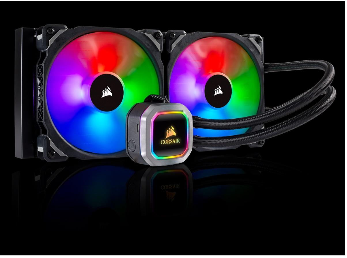 Watercooler H100I - RGB 240MM Platinium - CW-9060039-WW