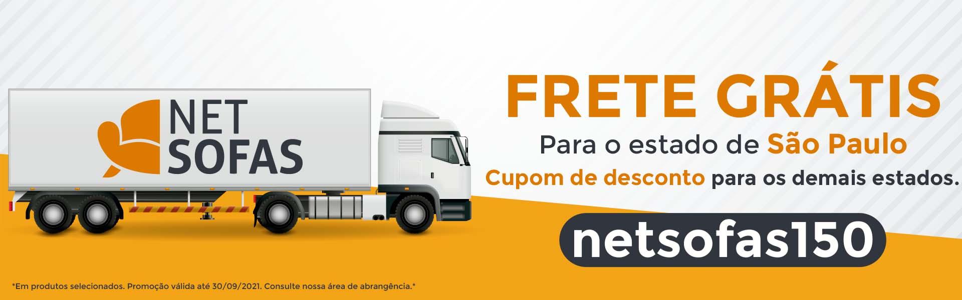 NETSOFAS | Frete grátis